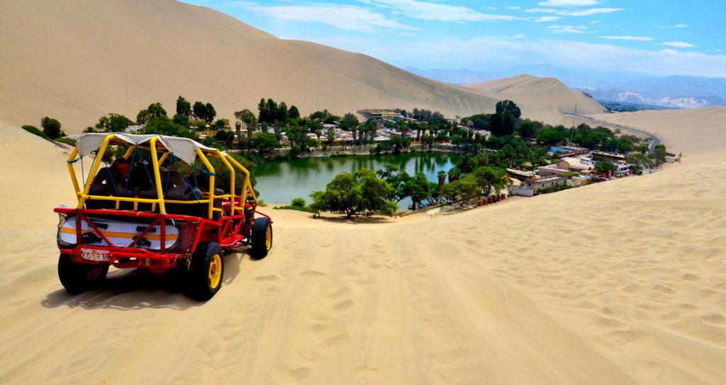 campamento de lujo en el desierto de Ica